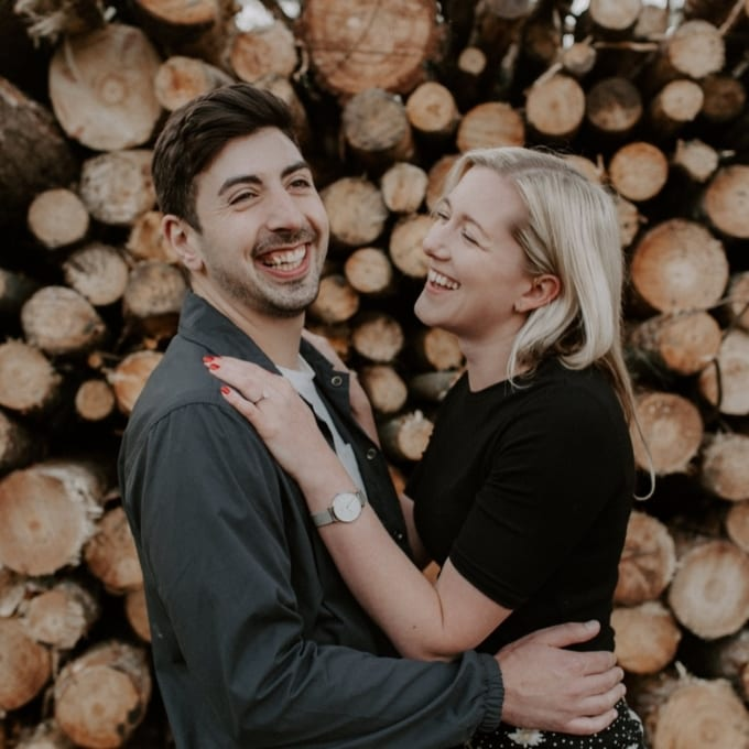 Woodland Cannock Chase Engagement