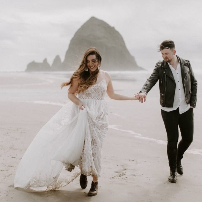 Cannon Beach Elopement Oregon