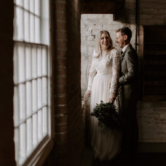 Boho Industrial Wedding at The West Mill Derby