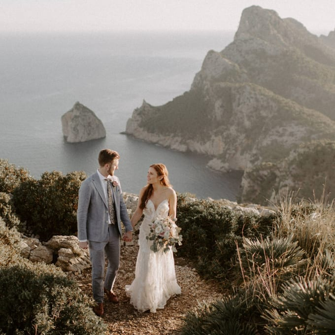 Outdoor Boho Mallorca Destination Wedding at Finca Son MIr
