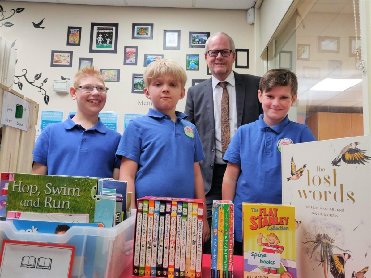 New library opened at Redgate Primary Academy