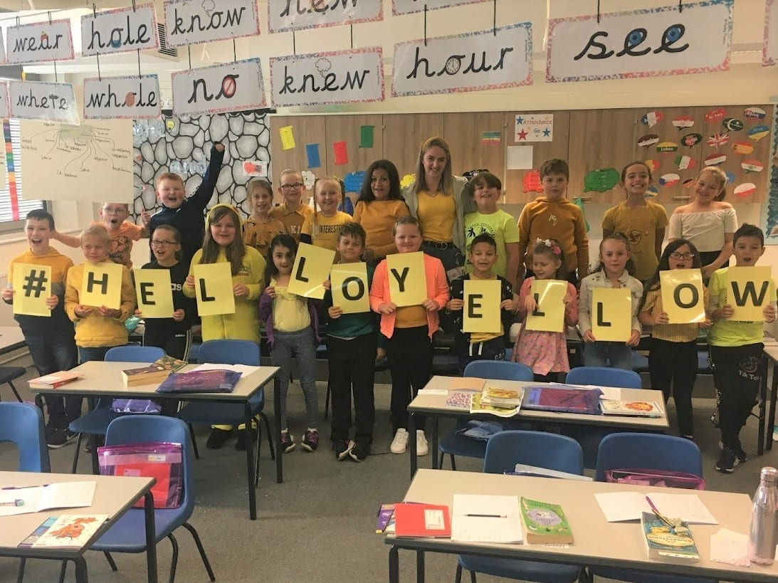 Supporting Hello Yellow day 2020