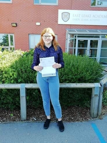 GCSE results reflect hard work and efforts of  East Leake Academy students